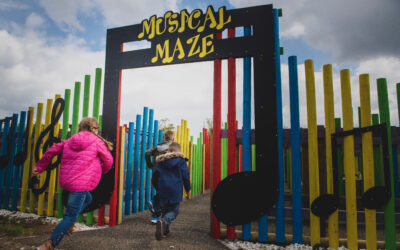 Staffordshire farm attraction reveals musical sensory play experience