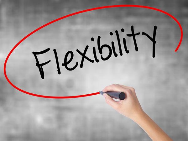 Hand written word flexibility